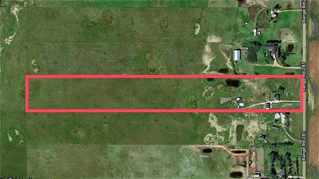 255051 Rge Rd 281, Rural Rocky View County, AB T0M 4L5 (#C4167408) :: Redline Real Estate Group Inc
