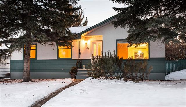 81 Hendon Drive NW, Calgary, AB T2K 1Y9 (#C4170205) :: Canmore & Banff