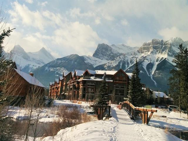 505 Spring Creek Drive #302, Canmore, AB T1W 0C5 (#C4171379) :: Canmore & Banff
