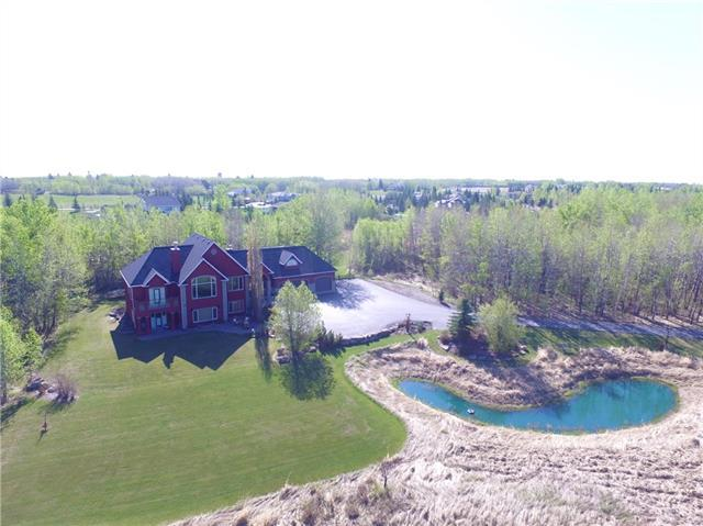 31 Woodlands Estates Crescent, Rural Rocky View County, AB T3R 1H1 (#C4171523) :: Redline Real Estate Group Inc
