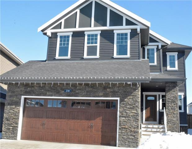 230 Bayside Court SW, Airdrie, AB T4B 0V5 (#C4171833) :: Canmore & Banff