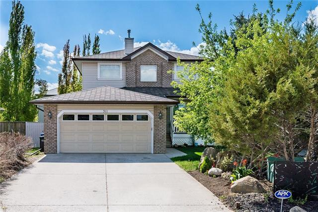 511 Cimarron Point(E), Okotoks, AB T1S 1S6 (#C4172208) :: Redline Real Estate Group Inc