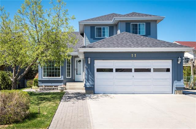 11 Riverview Close, Cochrane, AB T4C 1K7 (#C4173228) :: Redline Real Estate Group Inc