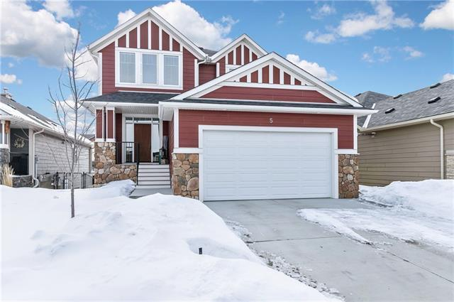 5 Cimarron Springs Circle, Okotoks, AB T1S 0M1 (#C4173879) :: The Cliff Stevenson Group