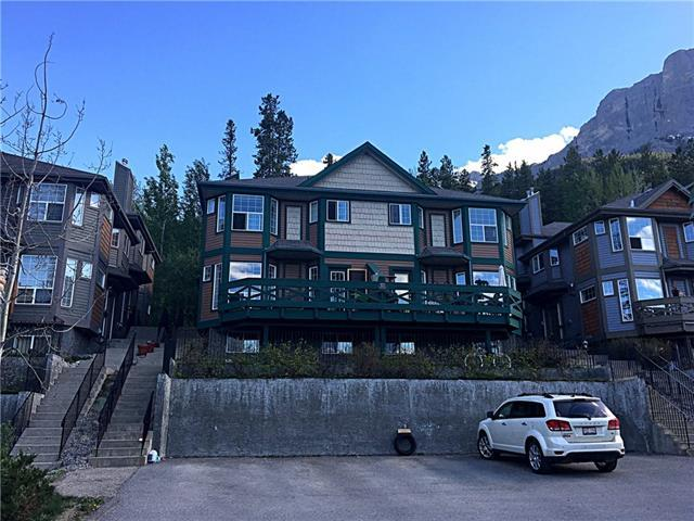 823 Wilson Way #2, Canmore, AB T1W 2Y8 (#C4177156) :: Redline Real Estate Group Inc