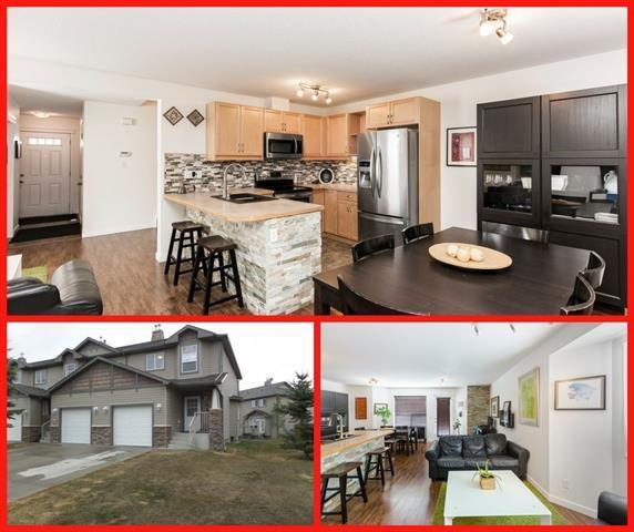 53 Spring Meadows Bay, Okotoks, AB T1S 2G8 (#C4177879) :: Redline Real Estate Group Inc