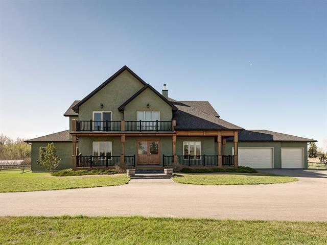 81051 378 Avenue E, Rural Foothills M.D., AB T1S 1B4 (#C4182402) :: Calgary Homefinders