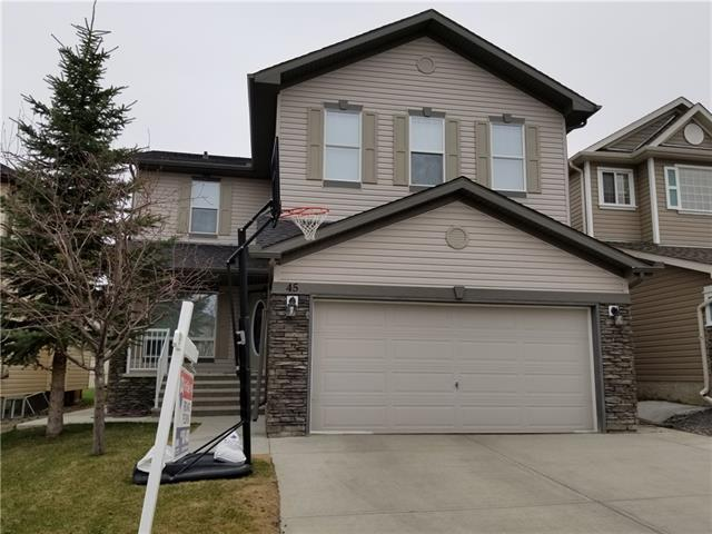 45 Morningside Bay SW, Airdrie, AB T4B 0K6 (#C4183457) :: Redline Real Estate Group Inc