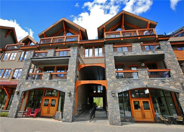 505 Spring Creek Drive #308, Canmore, AB T1W 0C5 (#C4184961) :: Canmore & Banff