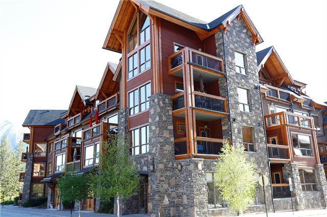 600 Spring Creek Drive #205, Canmore, AB T1W 0C8 (#C4187606) :: The Cliff Stevenson Group
