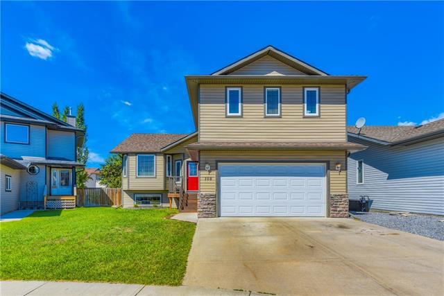 108 Camden Place, Strathmore, AB T1P 1Y2 (#C4190951) :: Canmore & Banff