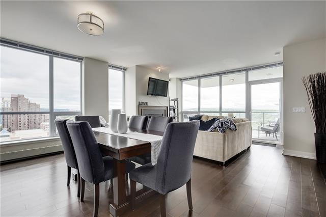 222 Riverfront Avenue SW #1621, Calgary, AB T2P 0X2 (#C4191168) :: Tonkinson Real Estate Team