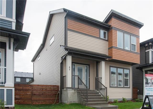 41 Cornerstone Manor NE, Calgary, AB T3N 1G5 (#C4192288) :: Tonkinson Real Estate Team