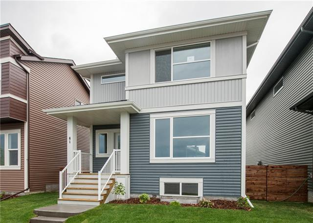 61 Cornerstone Manor NE, Calgary, AB T3N 1G5 (#C4192398) :: Tonkinson Real Estate Team