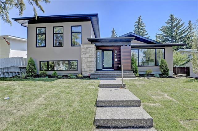 5719 Lodge Crescent SW, Calgary, AB T3E 5Y8 (#C4193441) :: The Cliff Stevenson Group