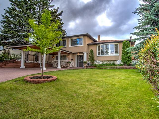 24 Clarendon Road NW, Calgary, AB T3G 3K2 (#C4193824) :: The Cliff Stevenson Group