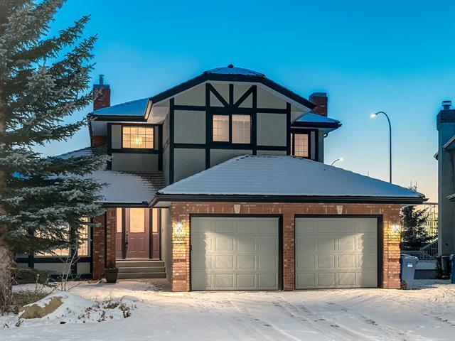 7007 Christie Briar Manor SW, Calgary, AB T3H 2R3 (#C4194512) :: Tonkinson Real Estate Team