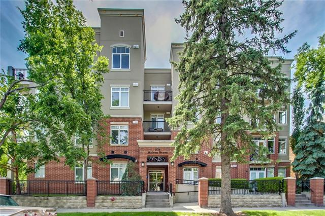 303 19 Avenue SW #401, Calgary, AB T2S 0E1 (#C4196923) :: Redline Real Estate Group Inc