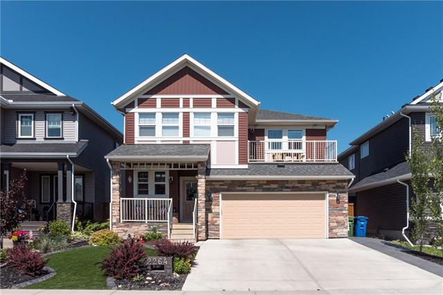 2264 Bayside Circle SW, Airdrie, AB T4B 0V6 (#C4197455) :: Canmore & Banff