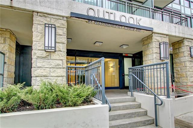 51 Waterfront Mews SW #301, Calgary, AB T2P 0X3 (#C4198618) :: Tonkinson Real Estate Team