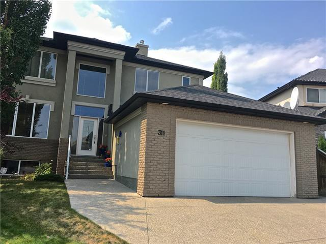 311 Simcrest Heights SW, Calgary, AB T3H 4K2 (#C4202082) :: Calgary Homefinders