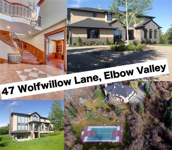 47 Wolfwillow Lane, Rural Rocky View County, AB T3Z 1B4 (#C4208011) :: Canmore & Banff