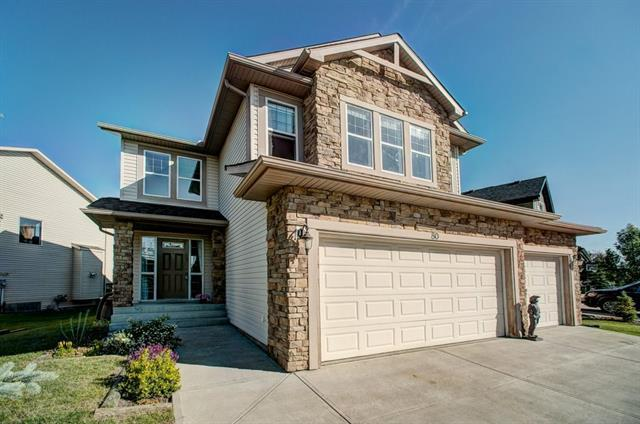 80 Crystal Green Drive, Okotoks, AB T1S 2N8 (#C4210285) :: Tonkinson Real Estate Team