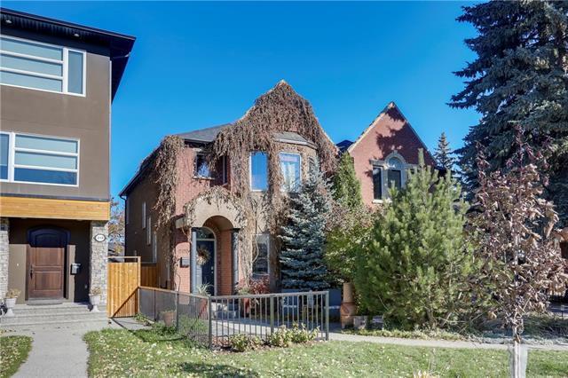 208 24 Avenue NW, Calgary, AB T2M 1X1 (#C4210897) :: Canmore & Banff