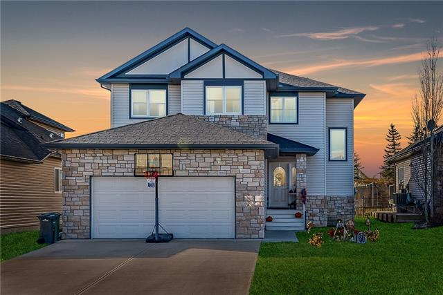 28 Crystal Green Drive, Okotoks, AB T1S 2N7 (#C4214070) :: Tonkinson Real Estate Team