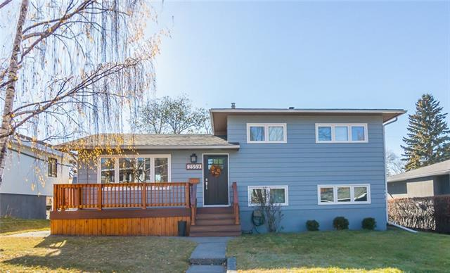 2559 Charlebois Drive NW, Calgary, AB T2L 0T5 (#C4214166) :: Canmore & Banff