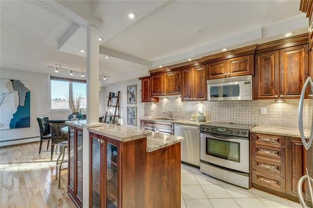 225 25 Avenue SW #401, Calgary, AB T2S 2V2 (#C4214181) :: Tonkinson Real Estate Team
