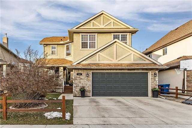 203 Crystal Shores Drive, Okotoks, AB T1S 2N3 (#C4214684) :: Canmore & Banff