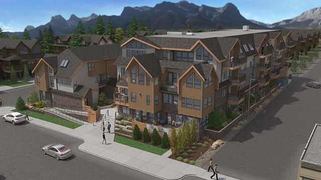 810 7th Street #110, Canmore, AB T1W 2C8 (#C4218397) :: Redline Real Estate Group Inc