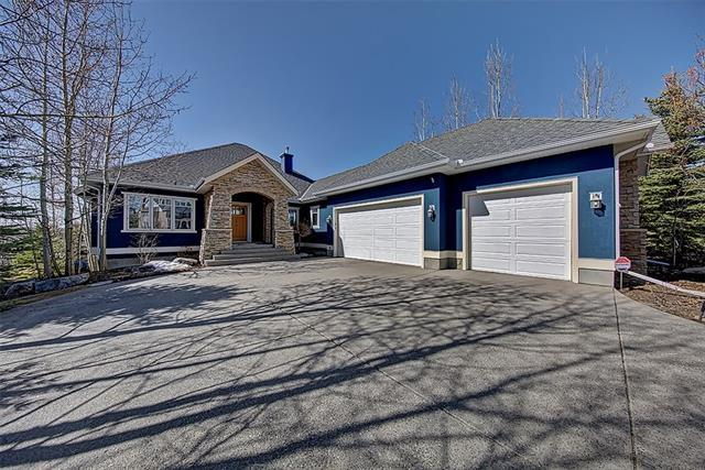 327 Whispering Water Bend, Rural Rocky View County, AB T3Z 3T3 (#C4219100) :: Canmore & Banff