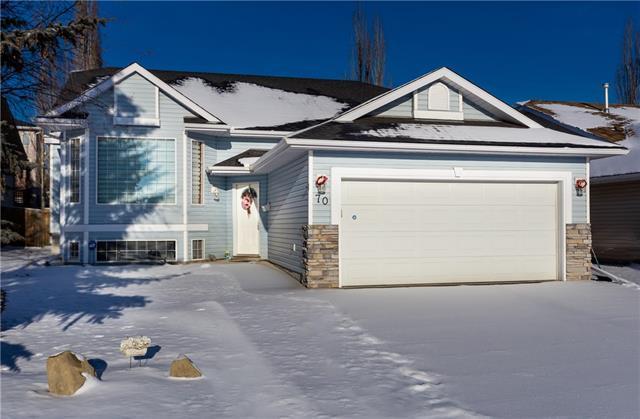70 West Terrace Crescent, Cochrane, AB T4C 1R8 (#C4219133) :: Redline Real Estate Group Inc