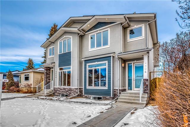 2406 22 Street NW, Calgary, AB T2M 2M3 (#C4219730) :: The Cliff Stevenson Group