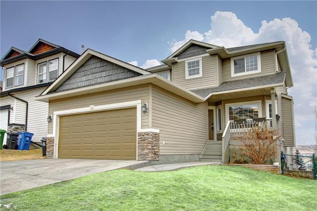 26 Bow Ridge Drive, Cochrane, AB T4C 1V6 (#C4222875) :: Redline Real Estate Group Inc