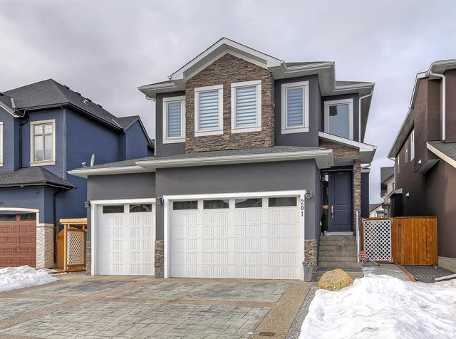 201 Kinniburgh Circle, Chestermere, AB T1X 0P8 (#C4225039) :: Redline Real Estate Group Inc