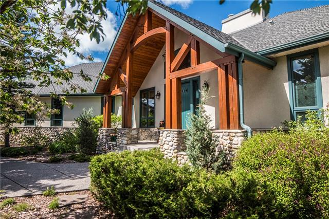 7 Coulee Ridge, Rural Rocky View County, AB T3Z 1A6 (#C4229896) :: Canmore & Banff
