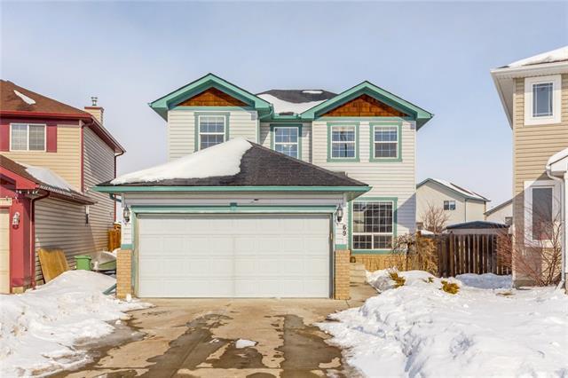 69 Cimarron Meadows Bay, Okotoks, AB T1S 2E4 (#C4232483) :: Redline Real Estate Group Inc