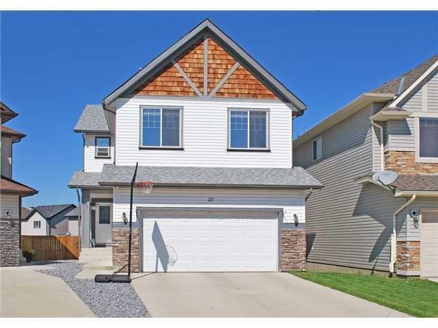 27 Cimarron Vista Circle, Okotoks, AB T1S 0B1 (#C4235354) :: Redline Real Estate Group Inc