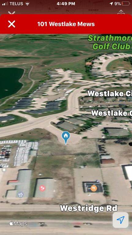 101 Westlake Mews, Strathmore, AB T1P 1H5 (#A1022386) :: Canmore & Banff