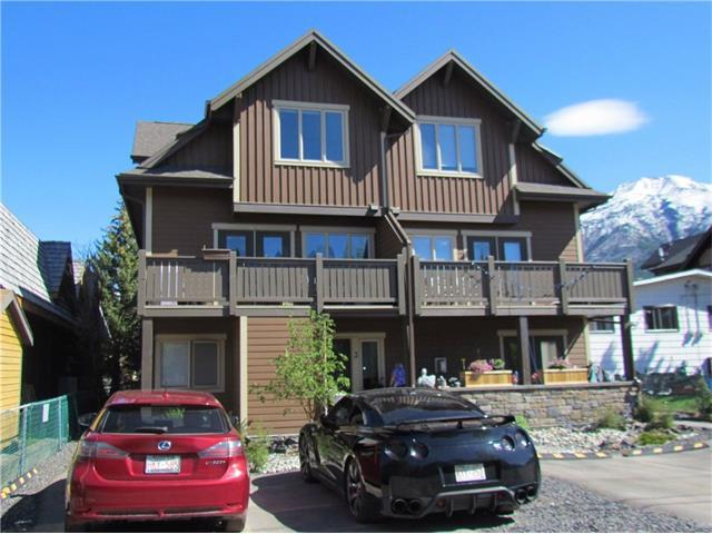 813 7th Street #4, Canmore, AB T1W 2C4 (#C4095595) :: Canmore & Banff