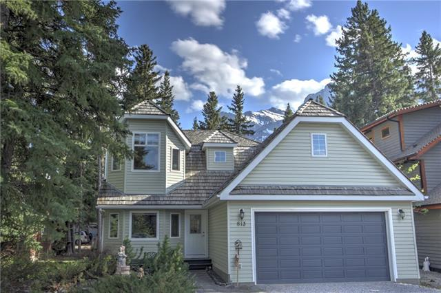 813 3rd Street, Canmore, AB T1W 2J2 (#C4161156) :: Redline Real Estate Group Inc