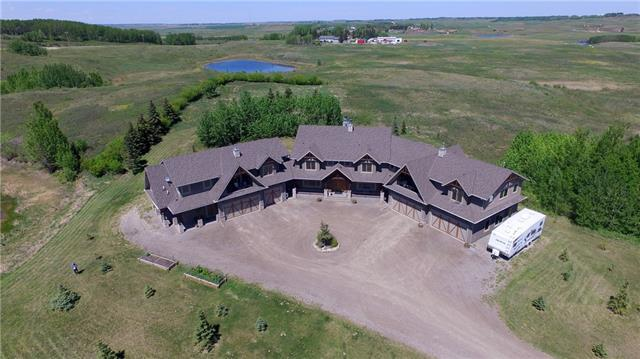 58 Big Hill Springs Estates, Rural Rocky View County, AB T4C 0E5 (#C4173529) :: The Cliff Stevenson Group
