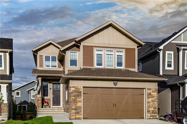 60 Jumping Pound Rise, Cochrane, AB T4C 0K6 (#C4174171) :: Your Calgary Real Estate