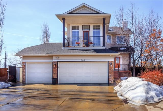240 Oakmere Place, Chestermere, AB T1X 1L2 (#C4178938) :: Canmore & Banff