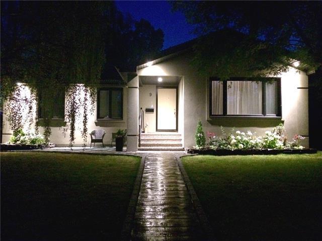 9 Manor Road SW, Calgary, AB T2V 1Z8 (#C4181020) :: The Cliff Stevenson Group