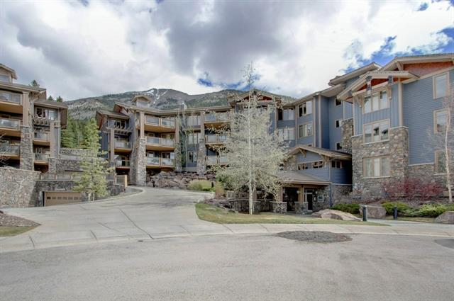 140 Stonecreek Road #101, Canmore, AB T1W 3J3 (#C4182173) :: Redline Real Estate Group Inc