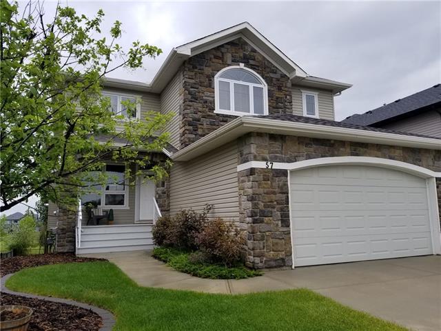 57 Crystal Green Drive, Okotoks, AB T1S 2N7 (#C4185042) :: Calgary Homefinders